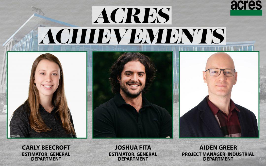 Acres Achievements