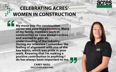 Women in Construction Week – Meet Carey Nasu