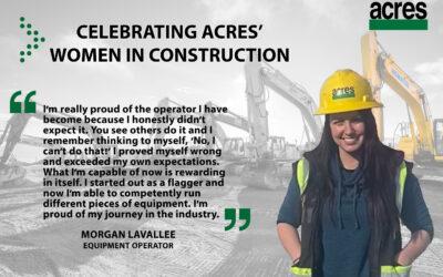 Women in Construction Week – Meet Morgan Lavallee