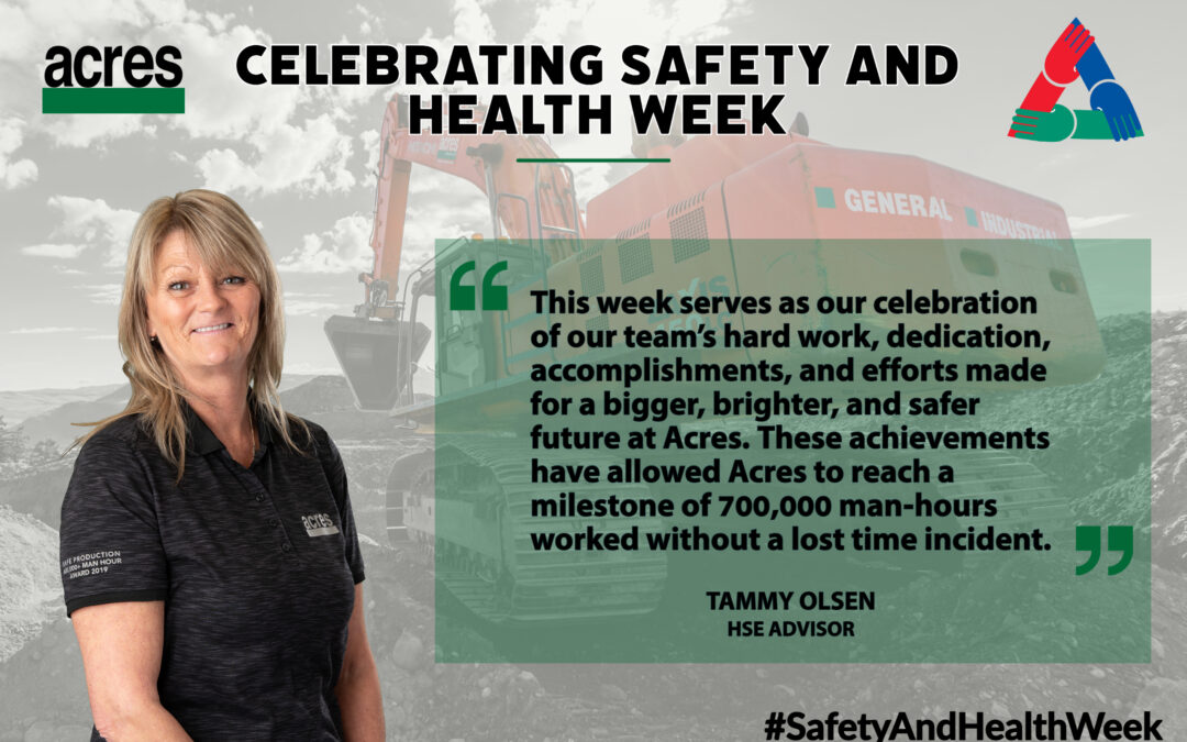 Acres Celebrates Safety and Health Week
